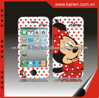 brand cute case for mobile phone for iphone 4