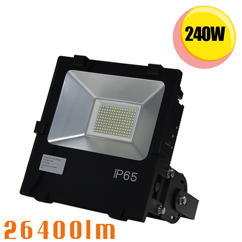 250W Outdoor LED <strong>Flood</strong> Light-1000W--1500W High Intensity Discharge Equivalent-25000lm-Daylight White 6000K Commercial Security