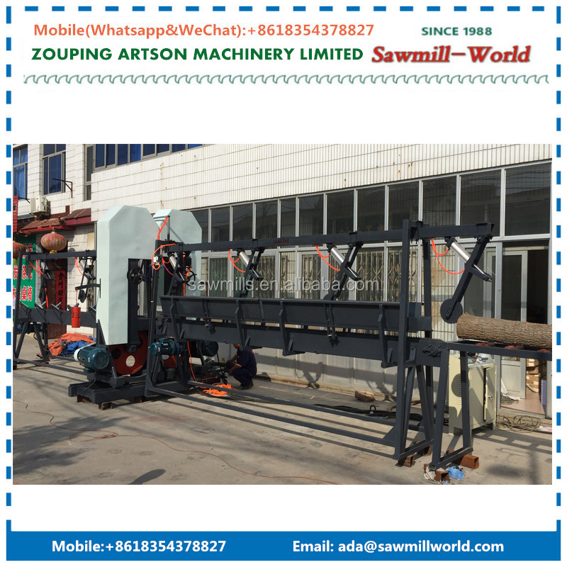 Vertical Band Sawmill Wood Cutting Saws Double Cut Band Saw
