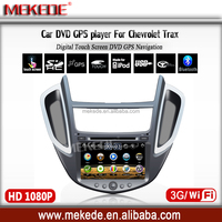 Car DVD player GPS navigator for Chevrolet Trax with Radio Bluetooth Ipod ATV 3g wifi SD USB
