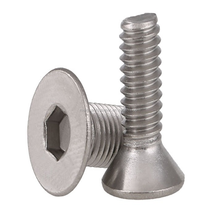 Quality Factory Production High Quality Stainless Steel 304 M8 Flat Head Allen Bolt Auto Fastener