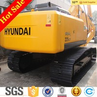hydraulic hyundai 220 crawler excavator with cummins engine