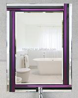 Hotsales modern design silver mirror for bathroom