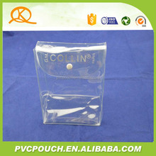 Chinese factory customized PVC plastic flat bottom packing bags