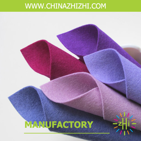 alibaba Factory Direct Selling 1mm, 3mm Thick Felt In Rolls Fabric for sale 2017