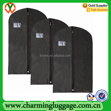 Eco Friendly Men Non-woven Garment Suit Cover Packaging Bag