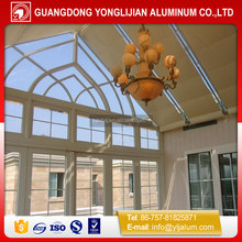 2016 new products aluminum frame glass sunroom on alibaba china