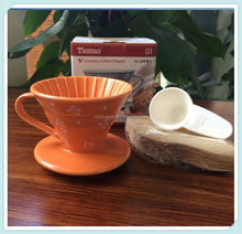 Tea & Coffee Tool Type Good Quality Classic Ceramic Coffee Filter Funnel