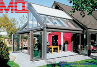 Beautiful sunproof aluminum sunroom door