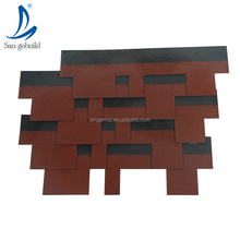 Goethe Standard Malaysia Asphalt Shingles price fiber cement roofing for coastal house color stones roof tiles