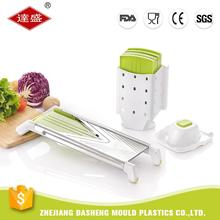 5-blade stainless steel salad making food cabbage lemon tomato garlic onion potato mandoline V vegetable slicer