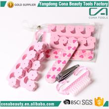 Wedding Gift Favor Flop 4 Pieces women manicure pedicure set