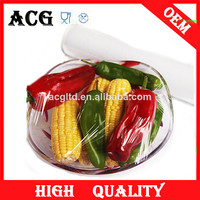 household and hotel use clear heat shrink plastic film for cooking