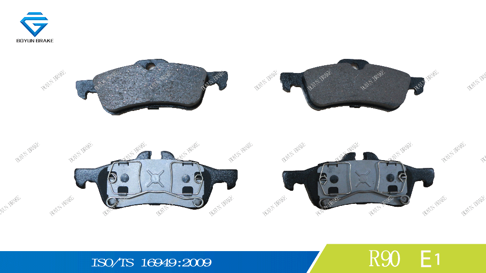 Hot sale factory price brake pad D1060 34216762871,34216770252