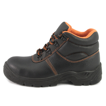 NMSHIELD CE S3 hot selling basic model buffalo leather work boots safety shoes