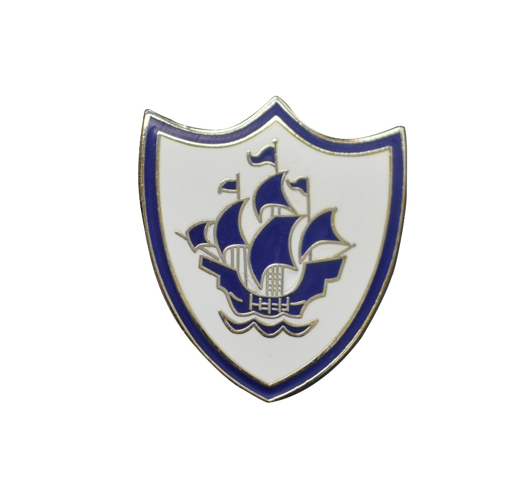 boat customized logo badge button lapel pin