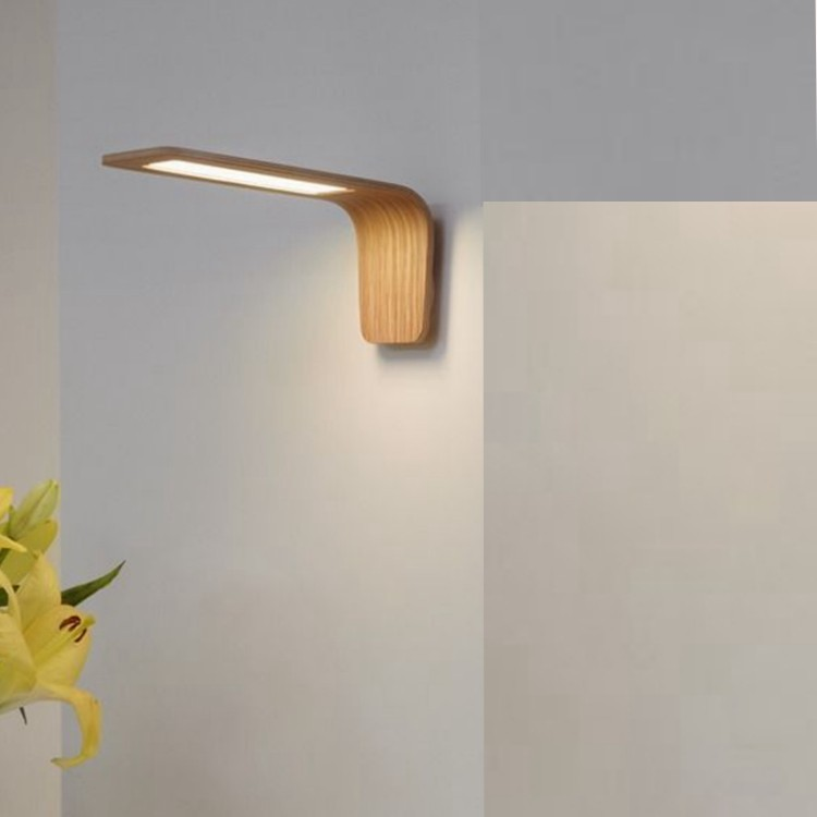 LED Wooden wall Lamp, Modern style wood wall light, Home decoration wall lamp