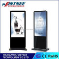 White/Black 4ms response time 99% light transmittance digital advertising screen
