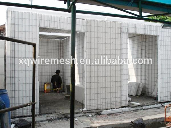 EPS 3d weld wire mesh foam panels heavy design steel structure building