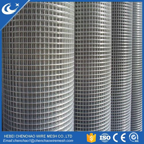 Anping square Blue PVC Coated Welded Wire Mesh 1 2 inch