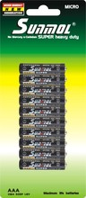 1.5V SIZE AAA UM-4 R03 DRY CELL BATTERY 5DOZ/SHRINK TRAY PACK