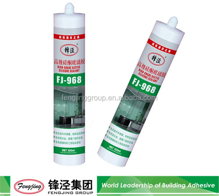 Building fire resistant 310ml white transparent liquid silicone sealant with good prices