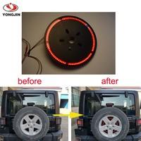 Spare Tire LED Third Brake Light for Jeep Wrangler JK /Off Road Light BK