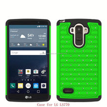 Hot Items Silicone And Pc Hybrid Bling Phone Case For Amazon Fire Phone