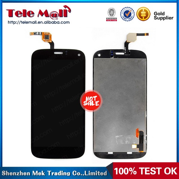 black Color screen replacement digitizer lcd for wiko darkfull