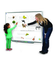 Multi touch interactive whiteboard,Factory of interactive smartboard for education ,10users Smartboard