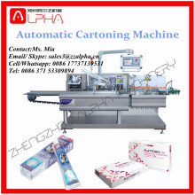 Alpha AP-CP1200 Automatic Tube Carton Packing Machine For Condom / Bag / Shacet(Automatic Cartoning Machine)