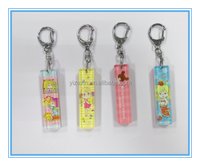 Shenzhen innovative plastic acrylic keychain supplier