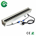 Wireless dmx control 18*3W RGB led wall washer light with 3 years warranty