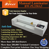 330mm photo paper Anti-Jam Pouch film manual thermal laminator machine