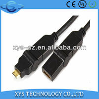 360 HDMI Cable Rotating MINI HDMI to HDMI Female Kabel