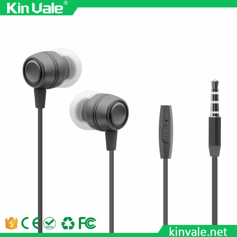 China handsfree headphones rope cord earphone earbuds,kinvale wired earphones wholesale