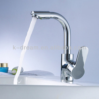 Sanitary wares chrome plated bathroom water sink faucet