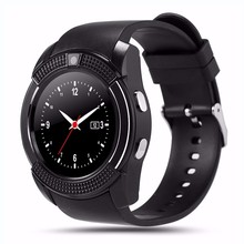 New Selling V8 Bluetooth Ce Rohs Pebbl Smart Watch Oem with Camera