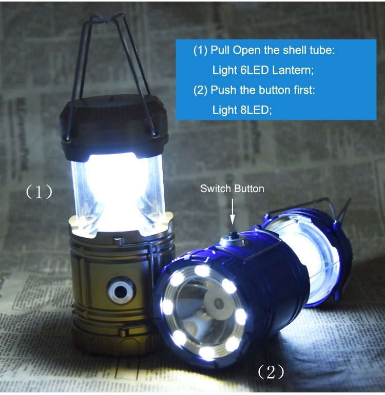 LED Night Camping Flash Torch