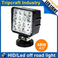48W LED DRIVING LIGHT ,16pcs*3w led offroad light for Boat truck lamp ,led driving light