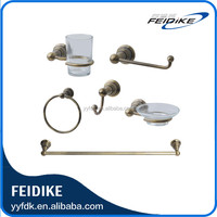 Feidike 1100 series zinc alloy bronze finish Bathroom Accessories