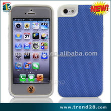 cell phone accessory mesh TPU smart phone cover for iphone5s