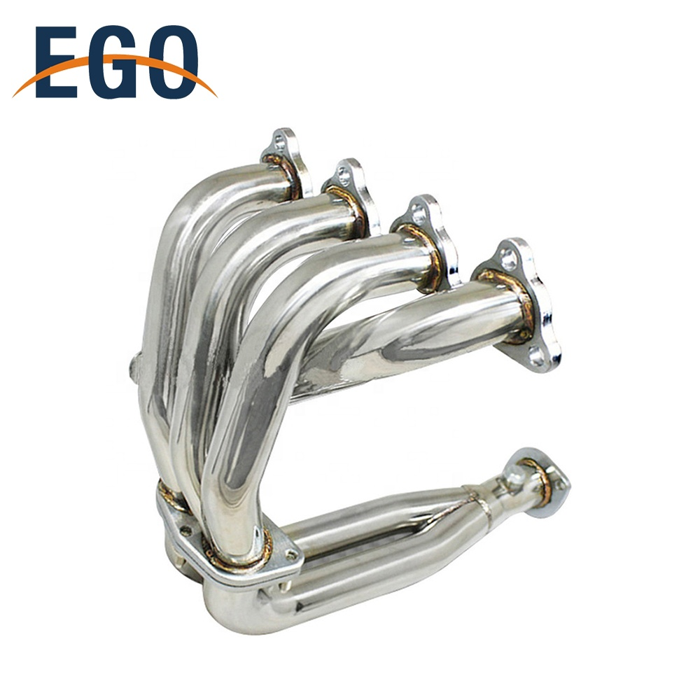 88-00 EK EM EX LX DX 1.5L 1.6L <strong>D15</strong> <strong>D15</strong> SOHC Stainless Steel Turbo Exhaust Header Manifold Pipe For Honda Civic