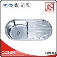 Stainless Steel Kitchen Sink Tops Hand Wash Basins