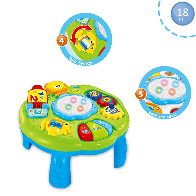 ABS Multifunction Chair Preschool Educational Toys For Kids