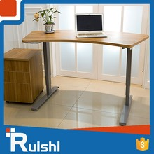 Unique Design Electric Height Monitor Wholesale Manually Height Adjustable Desk