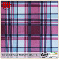 The Scottish plaid home textile for sofa fabric