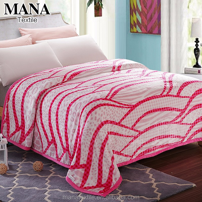 Extra thick fleece flannel fleece blankets warm heavy polyester <strong>100</strong>