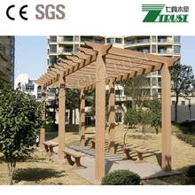 Eco-friendly green lifestyle of wpc decking/pergola