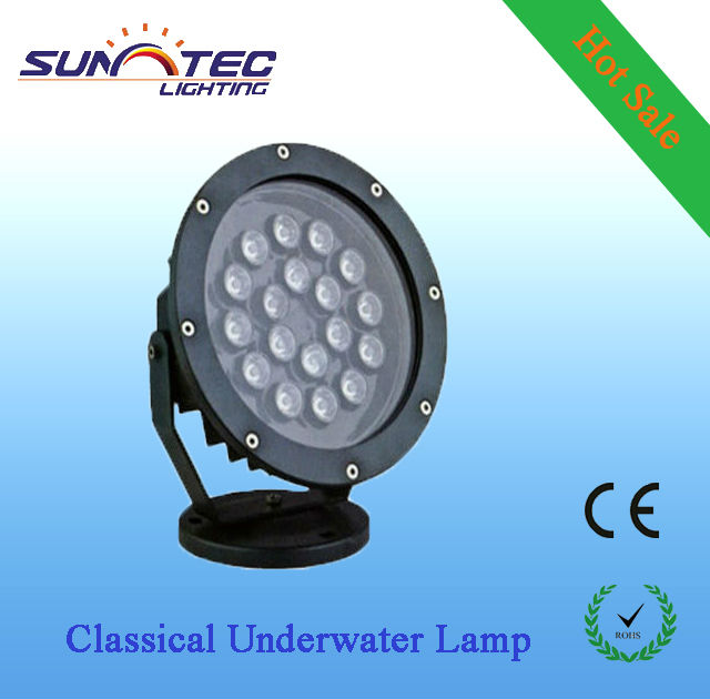 Euro style swimming pool astral underwater light